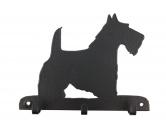 Schmuck & AccessoiresHunderassen Schmuck AnhängerScottish Terrier 2 Leinengarderobe - Schlüsselbrett