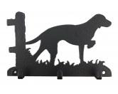 Bekleidung & AccessoiresHundesportwesten mit Hundemotiven inkl. Rückentasche MIL-TEC ®Vizsla Leinengarderobe - Schlüsselbrett