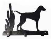 Bekleidung & AccessoiresHundesportwesten mit Hundemotiven inkl. Rückentasche MIL-TEC ®Weimaraner Leinengarderobe - Schlüsselbrett