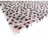 MarkenDry-Bed: Leopard beige braun Dots 50x75cm