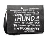 Baumwoll-Tasche: Ohne Hund ist alles doof! 2.0