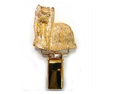 Schmuck & AccessoiresVersilberte AnhängerHunderassen-Ringclip 24k Vergoldet: Yorkshire Terrier