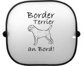 DuftbäumeHundemotiv DuftbäumeSonnenschutzgitter-Hundemotiv: Border Terrier 1