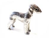 Aufkleber & TafelnHund Inside Auto AufkleberBedlington Terrier Figur