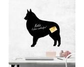 Aufkleber & TafelnAufkleber - On-LeinSelbstklebende Kreidetafel: Belgischer Schäferhund Tervueren 2