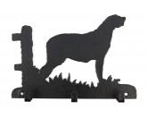 Socken mit TiermotivSocken mit HundemotivIrish Wolfhound Leinengarderobe - Schlüsselbrett