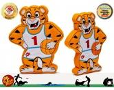 Spielzeuge für HundePridebite-Hundespielzeug groß: Tiger
