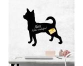 Socken mit TiermotivSocken mit HundemotivKreidetafel Hunderasse: Chihuahua 2