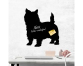RucksäckeCanvas Rucksack HunderassenKreidetafel Hunderasse: Cairn Terrier 1