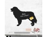 Selbstklebende KreidetafelnHundeKreidetafel Hunderasse: Berner Sennenhund 2