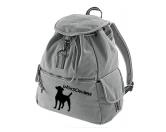 AusstellungszubehörHunderassen Ringclips vergoldetCanvas Rucksack Hunderasse: Parson Russell Terrier