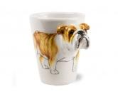 DuftbäumeHundemotiv Duftbäume3d-Designer Tasse: Bulldogge (englische)