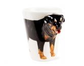 Schmuck & AccessoiresHunderassen Schmuck Anhänger3d-Designer Tasse: Rottweiler -handmade-