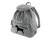 SchnäppchenCanvas Rucksack Hunderasse: Cane Corso
