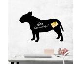 Leben & WohnenGarderoben & SchlüsselboardsKreidetafel Hunderasse: Bullterrier 1