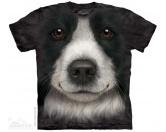 T-ShirtsHunderassen T-ShirtsThe Mountain T-Shirt - Border Collie Face