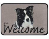 Tierische FußmattenStandard Fussmatte: Hund Border Collie