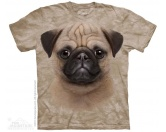 The Mountain FaceThe Mountain-Shirts HundeThe Mountain Shirt Mops - Pug Puppy