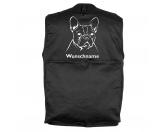 MarkenMil-Tec Hundesport Outdoor-Weste mit Dummytasche: Französische Bulldogge 5