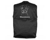 MarkenMil-Tec Hundesport Outdoor-Weste mit Dummytasche: Jack Russell Terrier 2