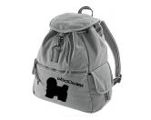 Bekleidung & AccessoiresHundesportwesten mit Hundemotiven inkl. Rückentasche MIL-TEC ®Canvas Rucksack Hunderasse: Havaneser