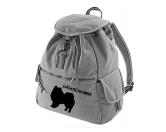 Bekleidung & AccessoiresOutdoor-Westen - mit DummytascheCanvas Rucksack Hunderasse: Eurasier 1