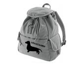 Bekleidung & AccessoiresHausschuhe & PantoffelnCanvas Rucksack Hunderasse: Dackel Kurzhaar