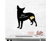 Bekleidung & AccessoiresHundesportwesten mit Hundemotiven inkl. Rückentasche MIL-TEC ®Kreidetafel Hunderasse: Zwerg Pinscher 2