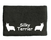 Schmuck & AccessoiresVersilberte AnhängerHandtuch: Silky Terrier