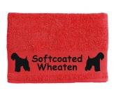 RestpostenHandtuch: Softcoated Wheaten Terrier