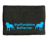 Für MenschenAuto-SonnenschutzHandtuch: Staffordshire Bullterrier 1