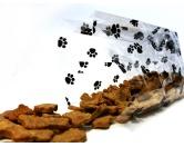 NeuheitenFolien Beutel: Hunde Pfoten 10er-Set 10 x 24cm