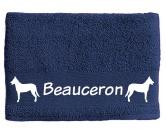 Bekleidung & AccessoiresHundesportwesten mit Hundemotiven inkl. Rückentasche MIL-TEC ®Handtuch: Beauceron