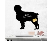 SchnäppchenKreidetafel Hunderasse: Brittany Dog 1