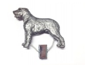 Socken mit TiermotivSocken mit HundemotivHundeausstellungs-Startnummern-Clip: Irish Wolfhound