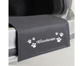 MarkenStoßstangenschutz - mit dem Namen Ihres Hundes