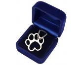 Hundedecken & KissenDRY-BED® & Profleece - TierunterlagenBluebug Halskette: TATZE - PFOTE silberfarben
