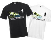 Schenken & ZubehörKleinigkeiten die Freude machenHundefreund Unisex T-Shirt: DOGWALKER 2.0