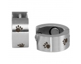 Bekleidung & AccessoiresSchals für TierfreundeEnergy and Life Magnetschmuck - Ohrringe mit Pfoten