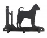 Tiermotiv TassenTassen HunderassenShar Pei Leinengarderobe - Schlüsselbrett