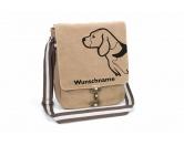 Bekleidung & AccessoiresHundesportwesten mit Hundemotiven inkl. Rückentasche MIL-TEC ®Beagle 2 Canvas Schultertasche Tasche mit Hundemotiv und Namen