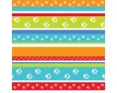 Geschenk-VerpackungenGeschenkpapier für Tierfreunde: Party Stripes