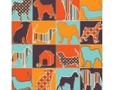 Geschenk-VerpackungenGeschenkpapier für Tierfreunde: Pattern Silhouettes