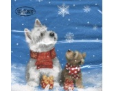 WeihnachtenPapier-Servietten: West Highland Terrier