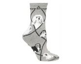 Bekleidung & AccessoiresHundesportwesten mit Hundesprüchen inkl. Rückentasche MIL-TEC ®Hunde Rasse Socken: Havaneser -grau-