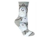 Bekleidung & AccessoiresHundesportwesten mit Hundemotiven inkl. Rückentasche MIL-TEC ®Hunde Rasse Socken: Malteser -grau-