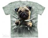 The Mountain FaceThe Mountain-Shirts HundeThe Mountain Shirt Mops - Pug Breakthru