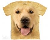 Schmuck & AccessoiresHunderassen Schmuck AnhängerThe Mountain T-Shirt - Golden Retriever Big Face