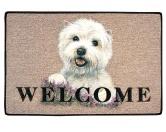 Tierische FußmattenStandard Fussmatte: Westie - West Highland Terrier