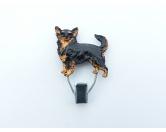 Taschen & RucksäckeGeldbörsen & HandytaschenHundeausstellungs-Startnummern-Clip: Chihuahua langhaar
